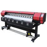 1.8 मीटर इको दिवाळखोर डिजिटल प्रिंटर डबल प्रिंटर हेड डीएक्स 5 वेर-ईएस 1 9 01