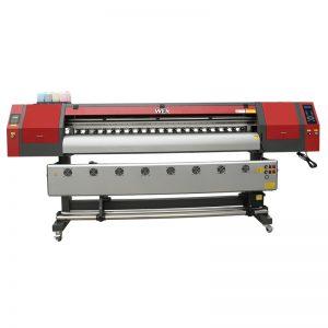 1800 मिमी 5113 डबल हेड डिजिटल टेक्सटाइल प्रिंटिंग मशीन बॅनर WER-EW1902 साठी इंकजेट प्रिंटर