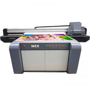 3 डी इफेक्ट यूवी फ्लॅटबड प्रिंटर, सिरेमिक्स प्रिंटर, चीन मधील टाईल्स प्रिंटिंग मशीन WER-EF1310UV