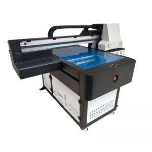ए 1 यूवी प्रिंटर डिजिटल 60 9 0 फ्लॅटबेड यूव्ही प्रिंटिंग मशीन, 3 डी इफेक्ट / वॉर्निश प्रिंटिंगसह