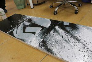 WER-G2513UV मोठ्या स्वरूप UV प्रिंटरद्वारे मुद्रित बिलबोर्ड