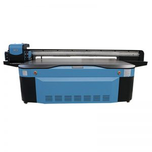 यूव्ही डिजिटल फ्लॅटबड प्रिंटिंग मशीन मोठा फॉर्मेट 2500X1300 WER-G2513UV