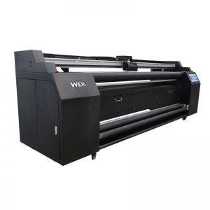 WER-E1802T 1.8 मी 2 * डीएक्स 5 सल्लिमिनेशन प्रिंटरसह टेक्सटाइल प्रिंटरवर थेट