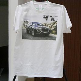 ए 3 टी-शर्ट प्रिंटरद्वारे व्हाइट टी-शर्ट मुद्रण नमुना WER-E2000T 2